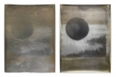 Untitled I and II, Diptych, 169 x 127 cm Each, Silver Gelatin Print, Mix Media, 2017, Edition of 1
