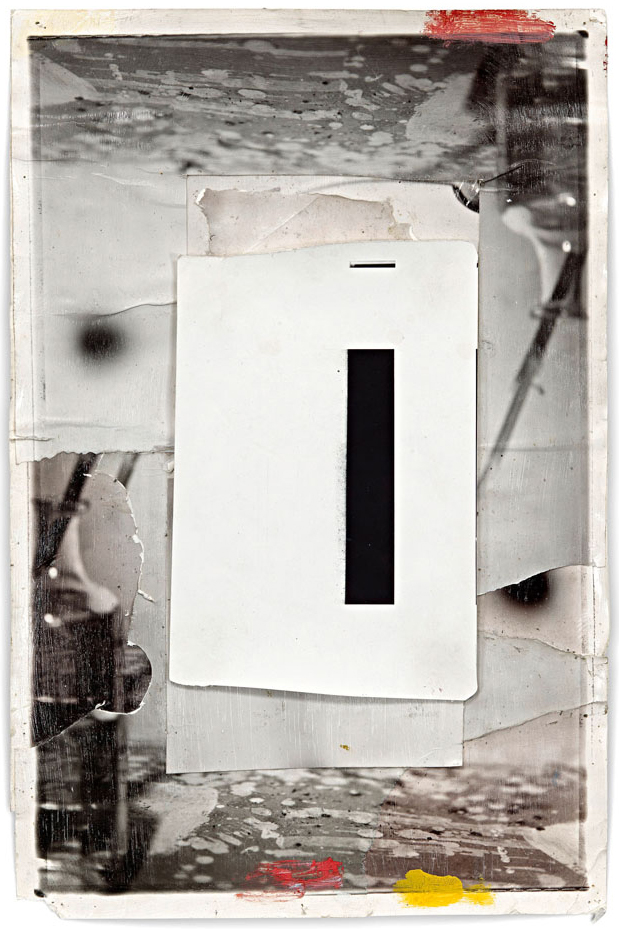 Z-4, 31 x 46 cm, Silver Print, Mixed Media, 2012, Edition of 1